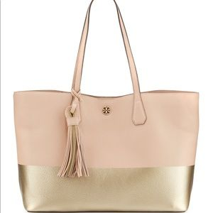 Tory Burch Color Block Perry Tote